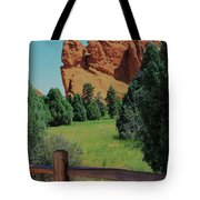 Colorado Garden Of The Gods From The Trail Tote Bag