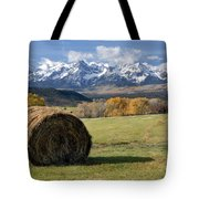 Colorado Haybale Tote Bag