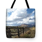 Colorado In Autumn Tote Bag