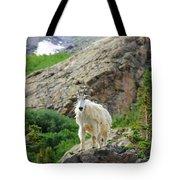 Colorado Mountain Goat Tote Bag