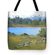 Colorado Mountains Tote Bag