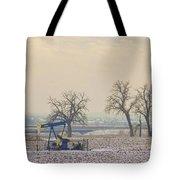 Colorado Pumpjack Tote Bag