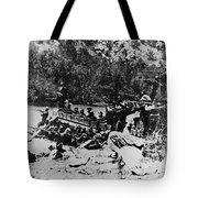 Colorado Railroad Wars Tote Bag