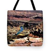Colorado Rapids Grand Canyon Tote Bag