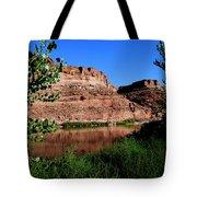 Colorado River At Moab Tote Bag