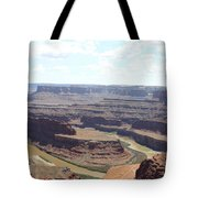 Colorado River From Dead Horse Point  Tote Bag