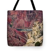 Colorado River In Grand Canyon Tote Bag