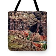Colorado River In The Grand Canyon High Water Tote Bag