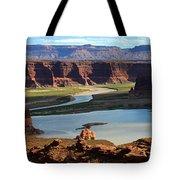 Colorado River Panoramic Tote Bag