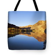 Colorado River Reflection Tote Bag