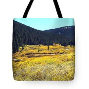 Colorado River Valley In Fall Tote Bag