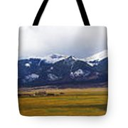 Colorado Rockies Panorama Tote Bag
