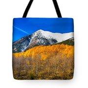 Colorado Rocky Mountain Independence Pass Autumn Panorama Tote Bag
