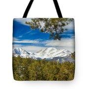 Colorado Rocky Mountain View Tote Bag