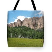 Colorado Side Of The Four Corners Area Tote Bag