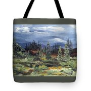 Colorado Skies Tote Bag