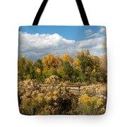 Colorado Urban Autumn Landscape Tote Bag
