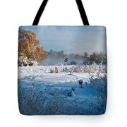 Colorado Waning Autumn And Approaching Winter Tote Bag by Cascade Colors