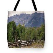 Colorado Wilson Peak Clouds Tote Bag