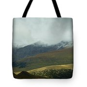 Colorado's Front Range Panorama Tote Bag