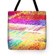 Colorburst Landscape Tote Bag