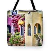 Colored Cottages By Diana Sainz Tote Bag
