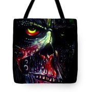 Colored Decay Tote Bag