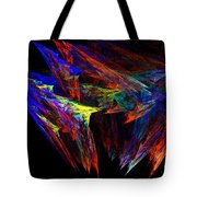 Colored Diamonds Tote Bag