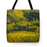 Colored Hillside Tote Bag