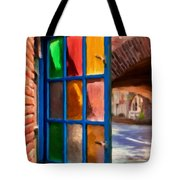 Colored Light Tote Bag