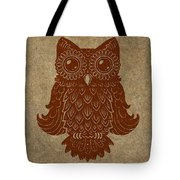Colored Owl 2 Of 4  Tote Bag