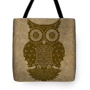 Colored Owl 3 Of 4  Tote Bag