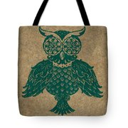 Colored Owl 4 Of 4  Tote Bag