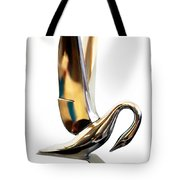 Colored Packard Hood Ornament Tote Bag