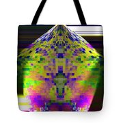 Colored Pentagon Tote Bag