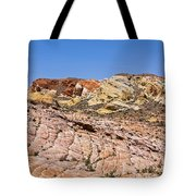 Colored  Stone Tote Bag