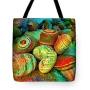 Colored Stones By Rafi Talby   Tote Bag