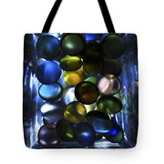 Colored Stones Of Light Tote Bag
