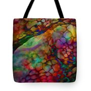 Colored Tafoni Tote Bag