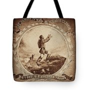Colored Troop Recruiting Tote Bag