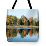 Colored Water Tote Bag