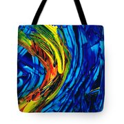 Colorful Abstract Art - Energy Flow 2 - By Sharon Cummings Tote Bag