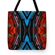 Colorful Abstract Art - Expanding Energy - By Sharon Cummings Tote Bag