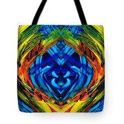 Colorful Abstract Art - Purrfection - By Sharon Cummings Tote Bag