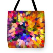 Colorful Abstract Background Tote Bag