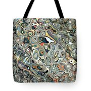 Colorful Abstract Shapes 2 Tote Bag