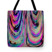 Colorful Abstract W Tote Bag