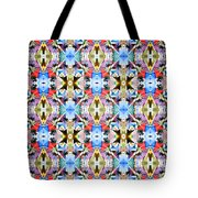 Colorful Angles Pattern Tote Bag