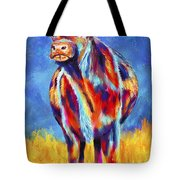 Colorful Angus Cow Tote Bag
