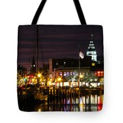 Colorful Annapolis Evening Tote Bag